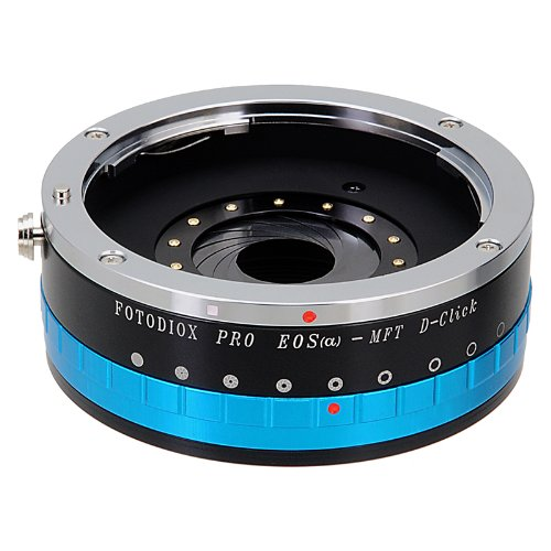 Fotodiox Pro Lens Mount Adapter Compatible with Canon EOS EF Lenses to Micro Four Thirds Cameras