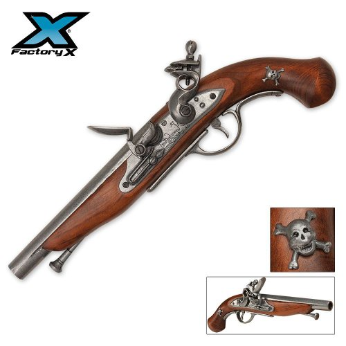 Replica Pirate Flintlock Pistol, Outdoor Stuffs