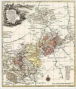 Historische Karte Vogtland Furstentum Reuss Reuss Plauischen