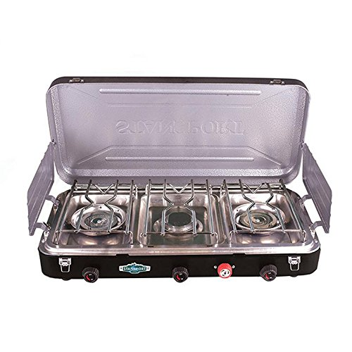 PROPANE STOVE - 2 - 25 K AND 1-10 K BURNERS, Case of 2
