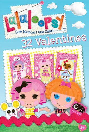 Paper Magic Showcase Lala Loopsy Valentine Exchange Cards (32 Count) ()