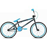 """Rooster XR Kids 20"""" Wheel 11"""" Frame Freestyle BMX Bike Bicycle Grey Blue RS90"""