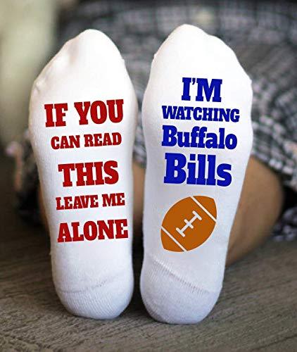 Buffalo Bills Socks Birthday Gifts American Football Game Day