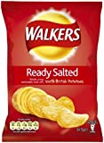 Walkers Crisps Ready Salted 32.5 grams (Pack of 48)