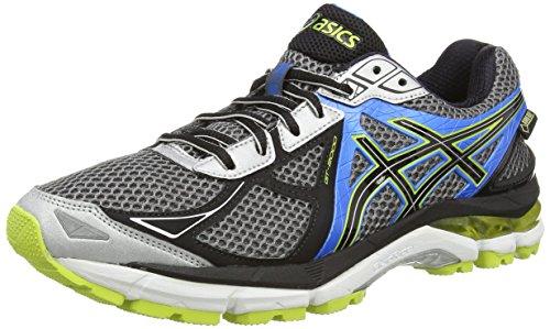 Asics Gt-2000 3 G-TX, Herren Laufschuhe, Blau (Blue/Flash Yellow/Atomic Blue  4207), 39.5: Amazon.de: Schuhe & Handtaschen