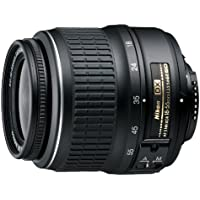 Nikon AF-S DX NIKKOR 18-55mm f/3.5-5.6G ED II Zoom Lens with Auto Focus for Nikon DSLR Cameras