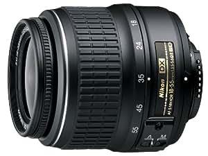 Nikon AF-S DX NIKKOR 18-55mm f/3.5-5.6G ED II Zoom Lens with Auto Focus for Nikon DSLR Cameras