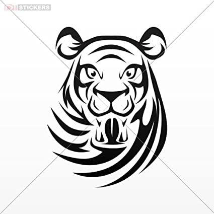 amazon sticker tiger red 7 x 5 2 inch x9a87 size 5 x 3 7 1955 Dodge 2 Door Sedan sticker tiger red 7 x 5 2 inch x9a87 size 5 x 3 7 inches