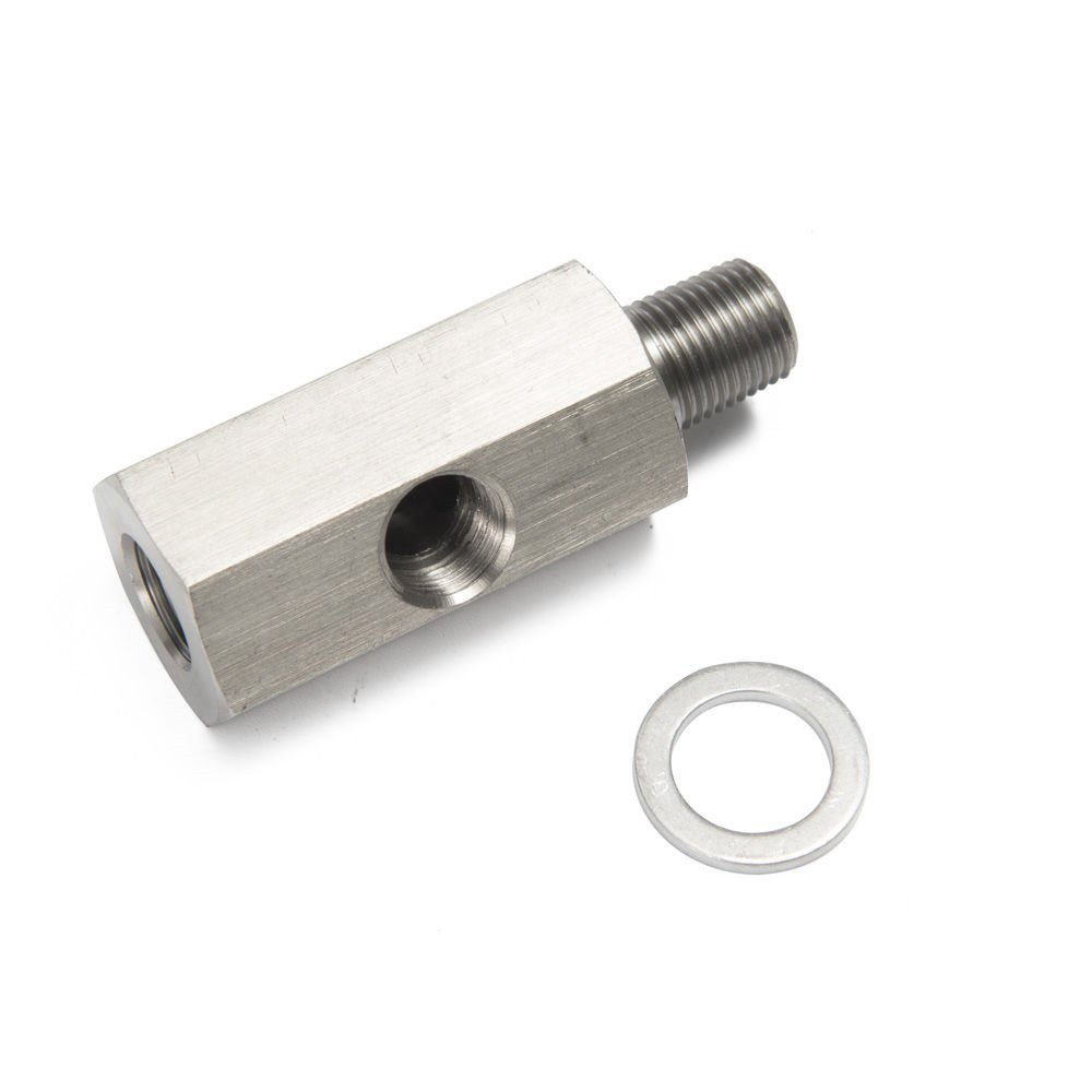 Epman tk-cgq200/metrico adattatore//olio pressione 1//20,3/cm NPT femmina x M10/M10/x 1/maschio e femmina tee l-48