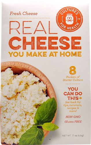 Cultures For Health Real Cheese Starter Culture Fresh Cheese -- 8 Packets