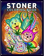 Stoner Coloring Book: A Trippy Coloring Book for Adults with Stress Relieving Psychedelic Designs