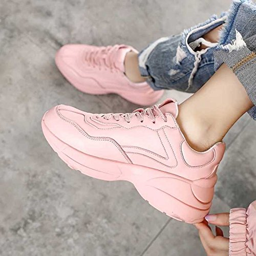 De Deportivos Gruesa Suela NGRDX Pink amp;G Zapatos qwS6t