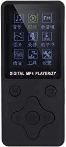 MP4 Player, Recorder & Music Player Portable MP3/MP4 USB Digital Music Player, for Listening Music Record Radio E-Book(Black)
