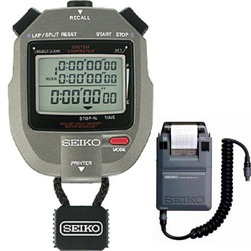 Seiko 300 Lap Memory Stopwatch with Printer Port
