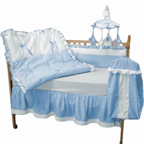 Baby Doll Bedding Regal Crib Bedding Set, Blue by BabyDoll Bedding   B006J2U616