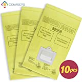 medical mini fridge - Set of 10 Anti-bacterial Hypoallergenic Premium Vacuum Bags for Kenmore Canister Type C, Panasonic Type C5, 50558 50557 5055 Vacuum Cleaner, Eco-friendly Wood Pulp Paper