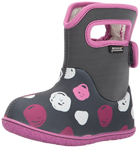 Bogs Winter Penguins Dark Grey Snow Classic Sketch Dots Multi Baby Boot PqrRUZpnP1