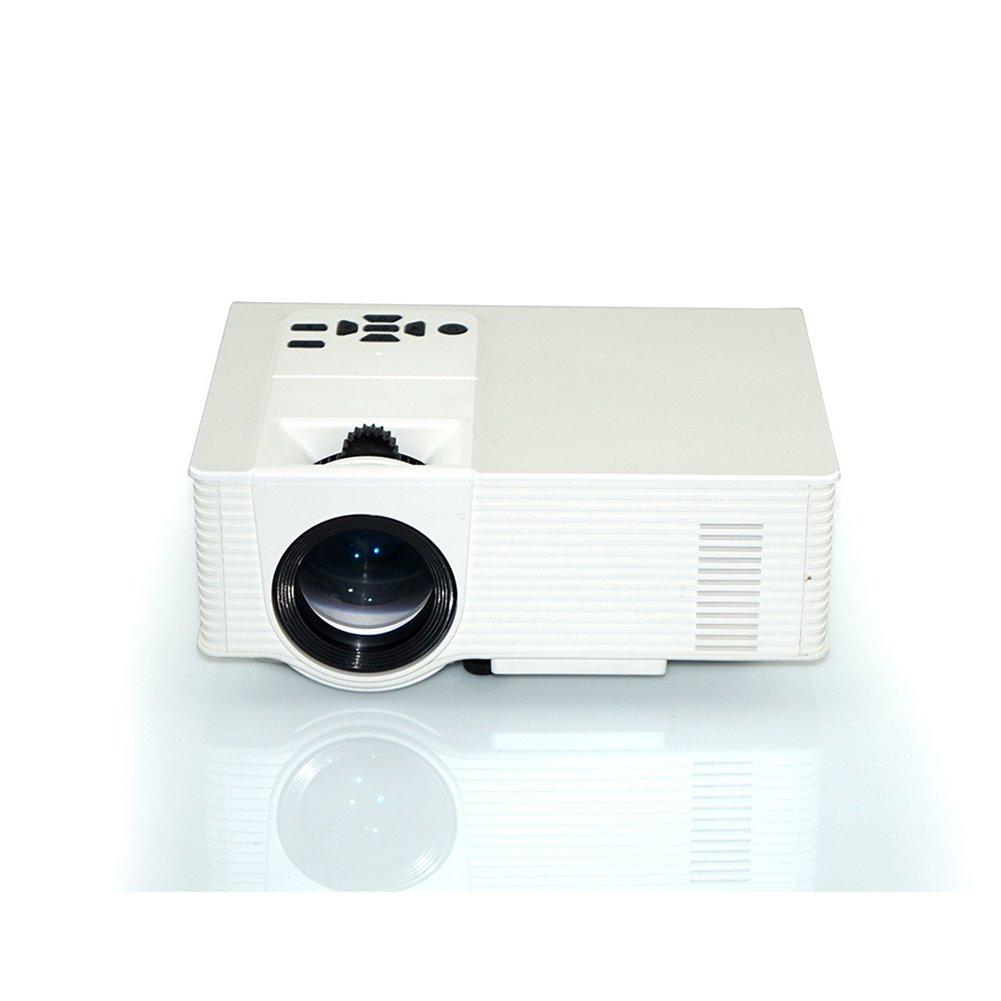 Apoyo 1080P HDMI 1500 Proyector luminoso LCD Mini proyector para ...