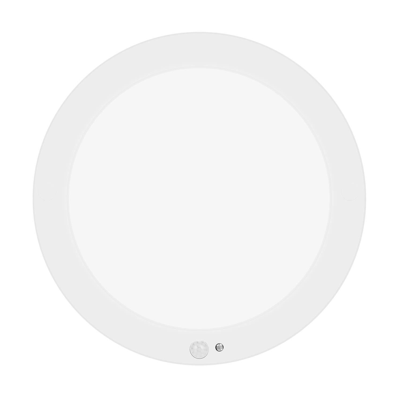Blinblin Indoor Motion Sensor LED Ceiling Light Warm White for Kitchen Bathroom Hallway Stairway Basement Lighting 8.6 Inch 1200lm 15W 4000 K