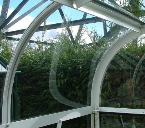Halls Curved Greenhouse Acrylic Panel 610x440mm