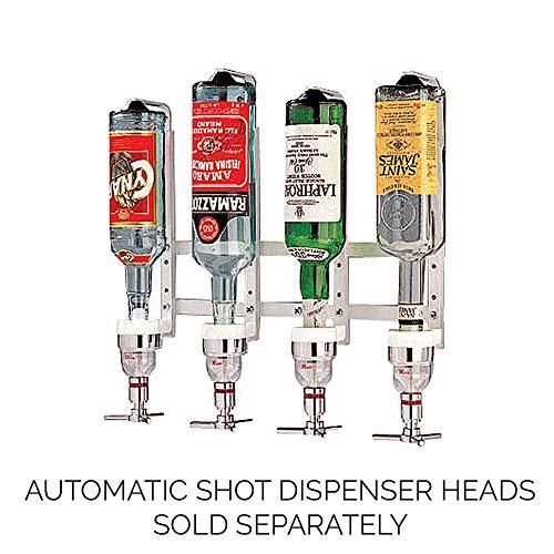 Paderno World Cuisine Aluminum Fixed Liquor Dispenser, 4 Bottles Chrome Steel 44056-04 by Paderno World Cuisine (Image #3)
