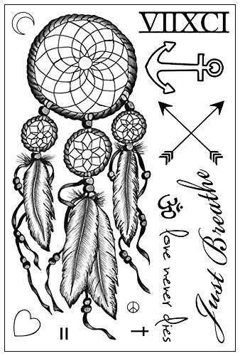 Miley Cyrus Inspired Temporary Tattoos Sheet -