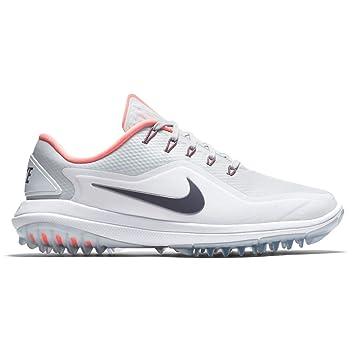 7ac1e3edda9 NIKE Lunar Control Vapor 2 Spikeless Golf Shoes 2018 Women Pure  Platinum Light Carbon