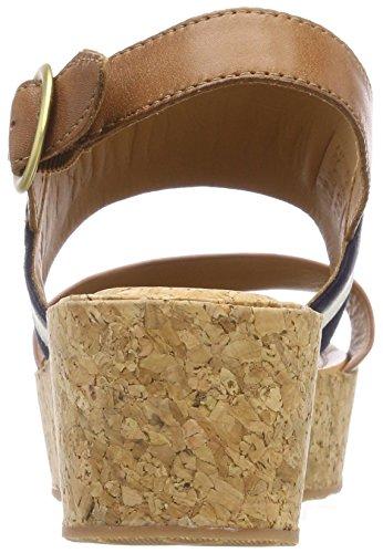 Mehrfarbig Judith Women's Cream Gant Sandals Platform Tan Marine FqAWpCTxw