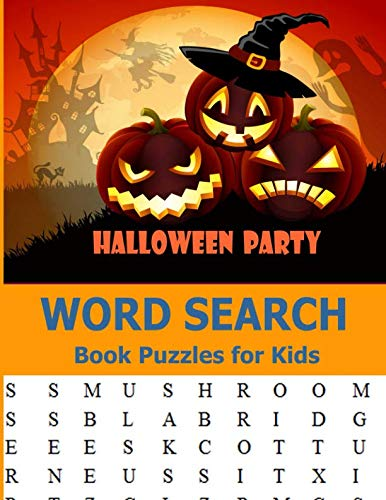 Halloween Party Word Search Book Puzzles for Kids: Large-Print Easy Words Puzzle Book Word Search]()