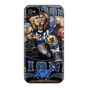 Iphone 6 ZFH18372JJMJ Custom Lifelike Detroit Lions Image Shock Absorption Cell-phone Hard Cover -PhilHolmes