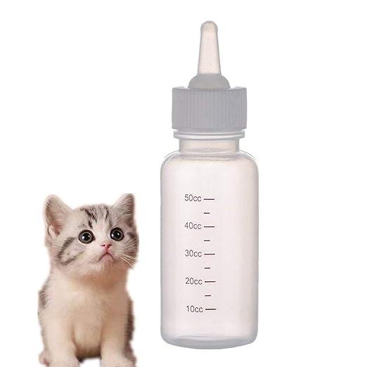 Ogquaton 1x Botella de Lactancia para Cachorros Mascota Perro Gato ...