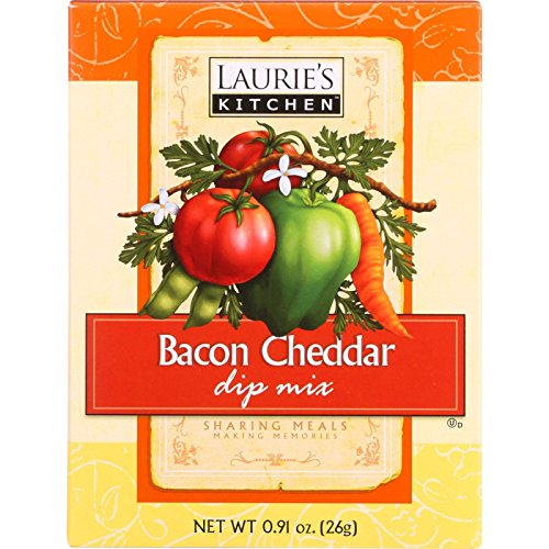 Lauries Kitchen (Lauries Kitchen Dip Mix - Bacon Cheddar - .91 oz - case of 12)