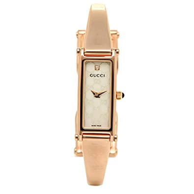f8712efa5e7a [グッチ]時計 GUCCI 1500シリーズ レディース腕時計ウォッチ 選べるカラー ゴールド/パール YA015560