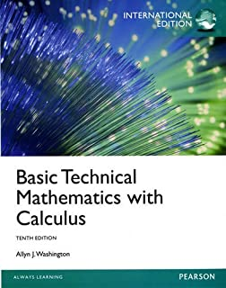 Basic technical mathematics 10th edition allyn j washington basic technical mathematics with calculus international edition fandeluxe Image collections