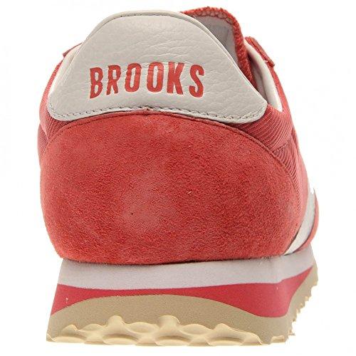 Brooks Damen Sand/Gold Vanguard Sneakers Rose White
