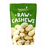 Food To Live Cashews (Whole, Raw) (4 Pounds)