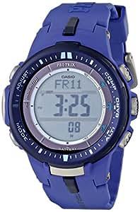 Casio Men's PRW-3000-2BCR Pro Trek Digital Display Quartz Blue Watch