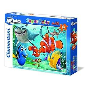 Clementoni 24446 Maxi Puzzle Nemo Chomp Chomp 24 Pezzi