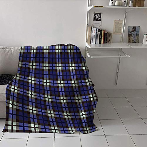 171db02ad Custom homelife Children's Blanket Ultralight All Season Blanket (30 by 50  Inch,Navy Blue