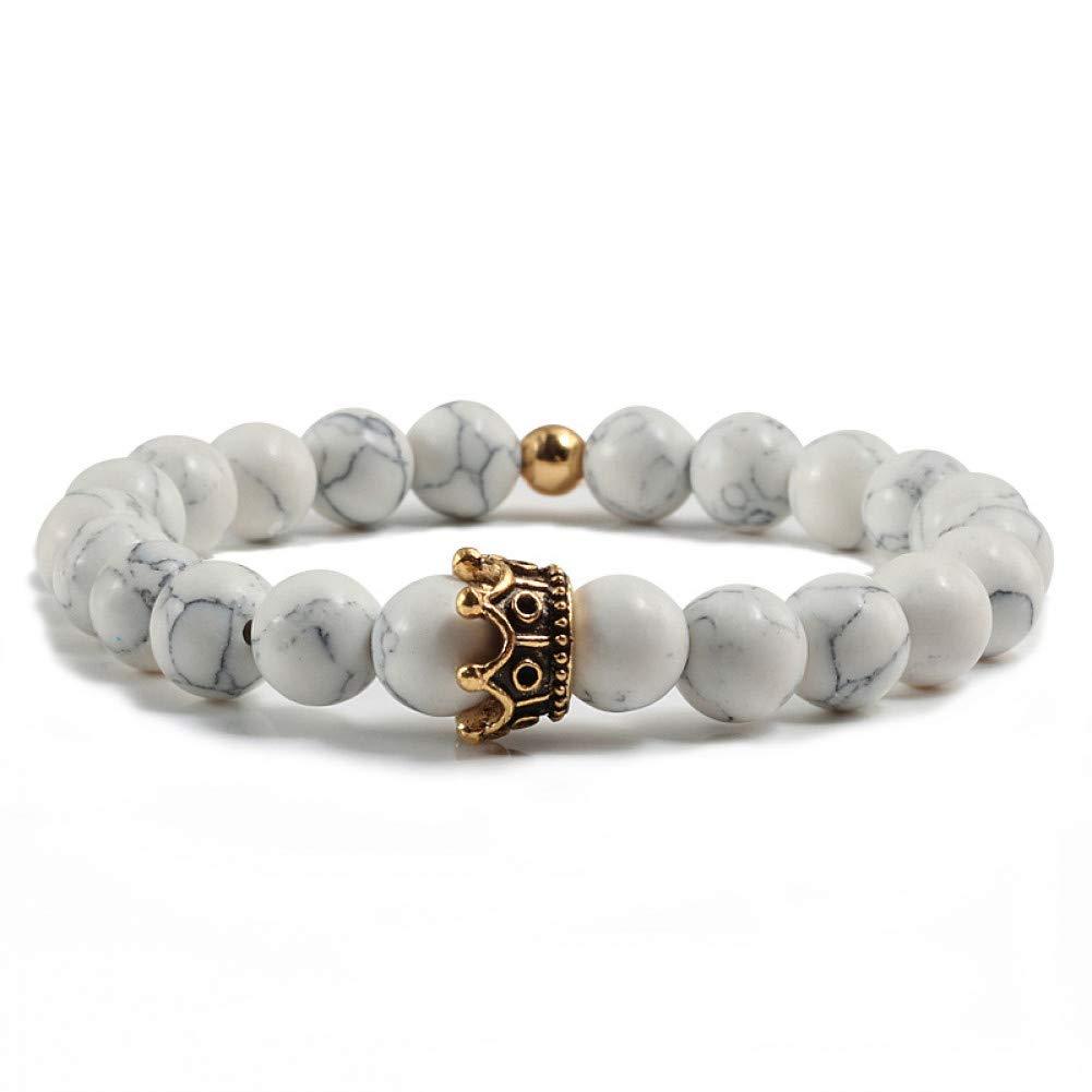 YCWDCS Pulsera Metal Crown Charm Bracelets For Women ...