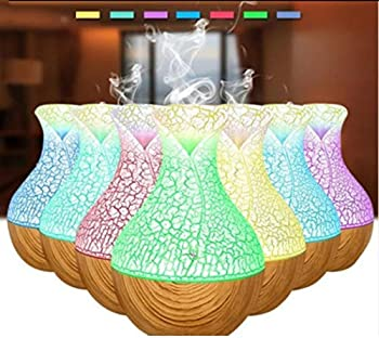 Zippem Aromatherapy Oil Diffuser Home Office Aroma Mist Air Humidifier