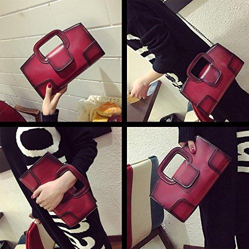 Messenger Purse Handbag Bag Shoulder Fityle Tote Crossbody Satchel Women Red Girls Bag wxRwvIqY