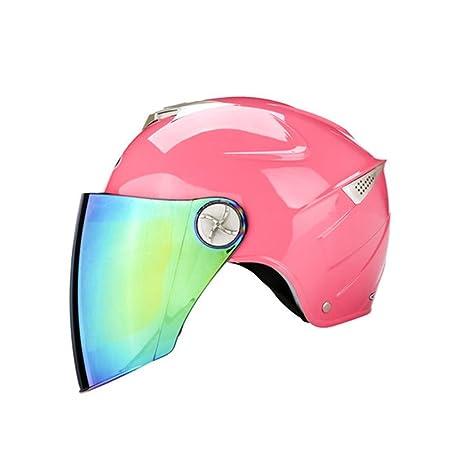 Four Seasons Universal Sun Helmet Casco de la motocicleta Hombres y mujeres Casco de verano de