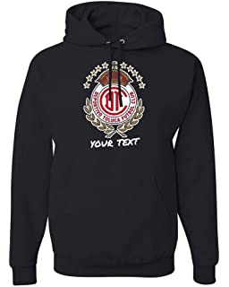 Toluca Diablos Rojos Hooded Hoodie Hoody Sudadera with Free Custom Text(Optional)