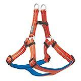 Terrain D.O.G. Reflective Dog Harness, Large, Dark Gray/Orange