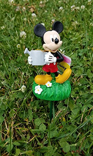 8 Inch Disney Mickey Mouse with Watering Can Pot (Disney Planter)