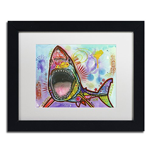 Trademark Fine Art ALI1467-B1114MF Shark 1 by Dean Russo