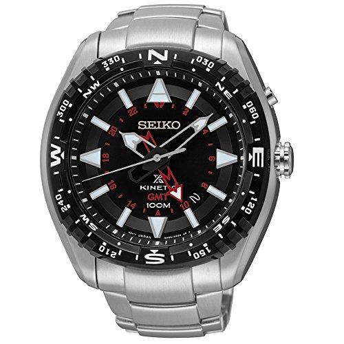 Seiko Kinetic 100 Meter - Seiko Men's Prospex Kinetic GMT Watch