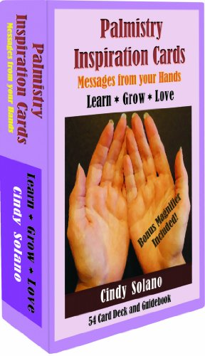 Palmistry Inspiration Cards: Message From Your Hands
