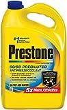 Prestone AF2100-6PK Extended Life 50/50 Antifreeze - 1 Gallon, (Pack of 6)
